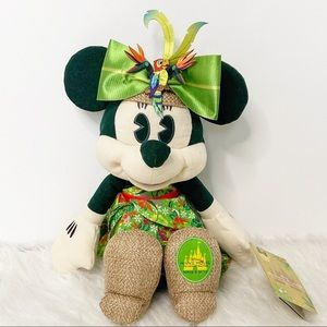 Disney Minnie Main Attraction Enchanted Tiki Plush